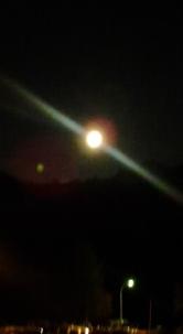 Luna piena in Val di Fassa