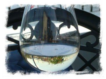 Bicchiere mezzo vuoto, fine ottimo pasto a Muggia - La Risorta