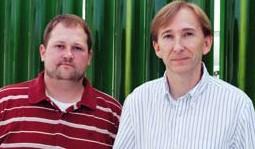 Mark Crocker (left) and Samuel Morton III