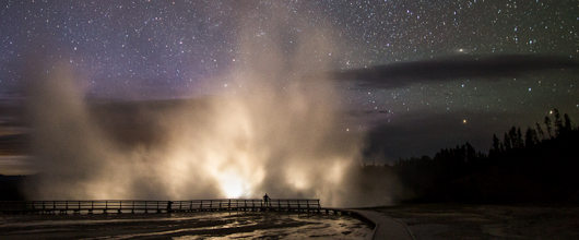 Source: Yellowstone, Excelsior Geyser in the Midway Geyser Basin